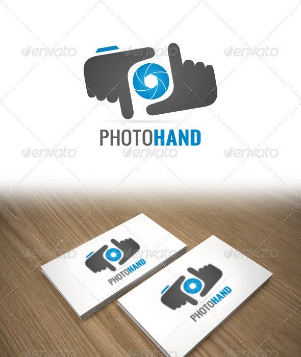 PhotoHand Logo for Photographer