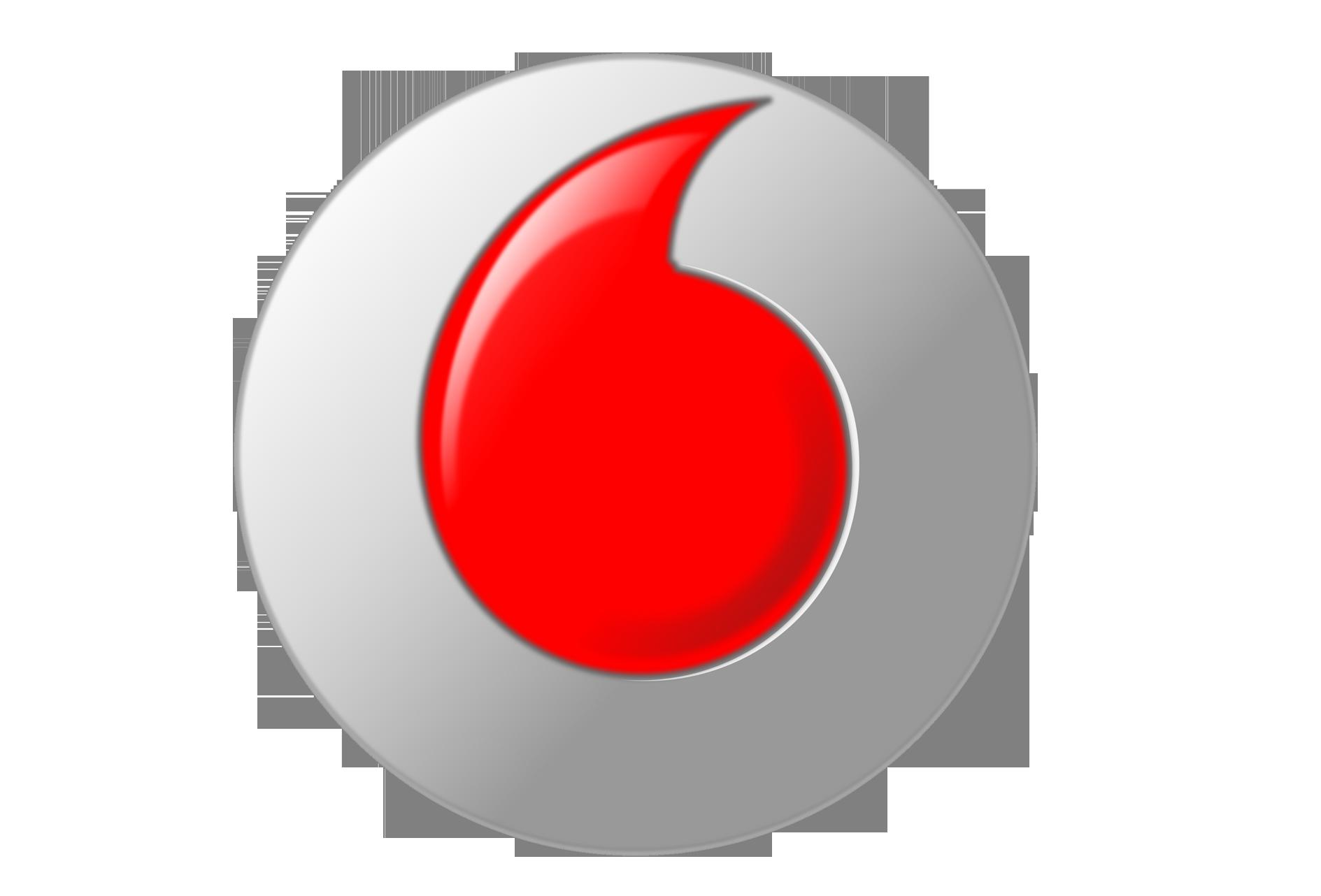 Vodafone Logo PNG Transparent Background - Famous Logos