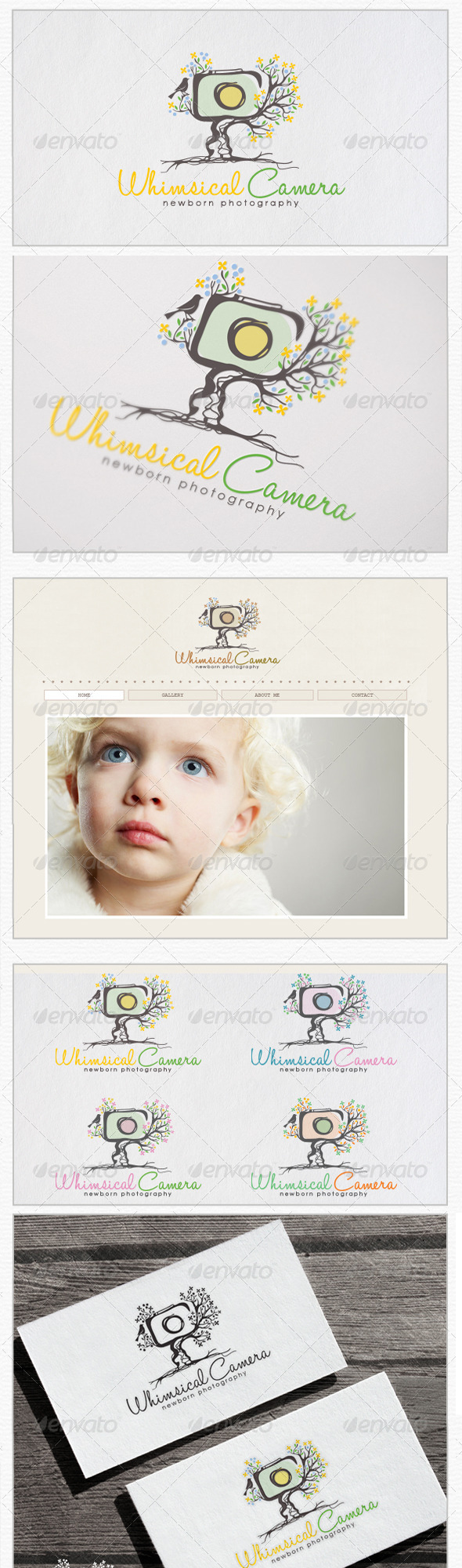 Whimsical-Camera-Tree-Newborn-Photography-Logo