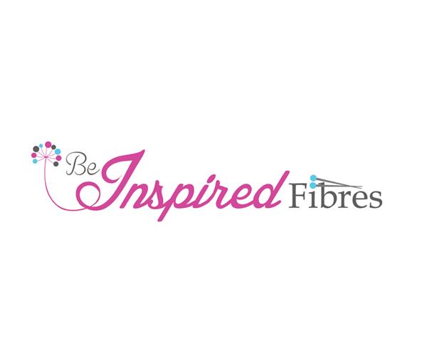 be-inspired-fibres-logo-design