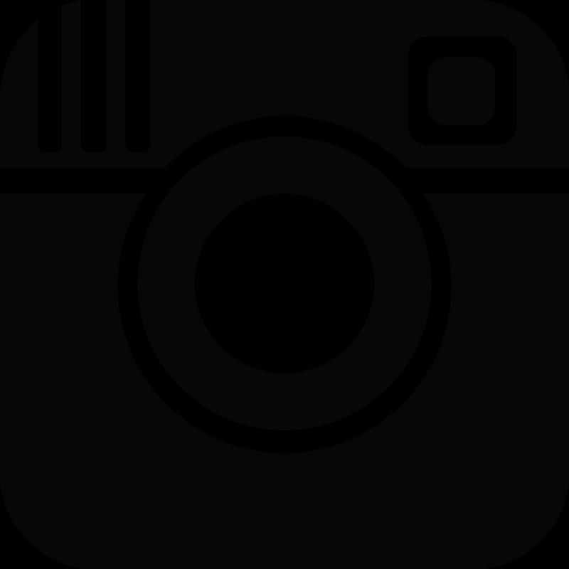 black color instagram icon png