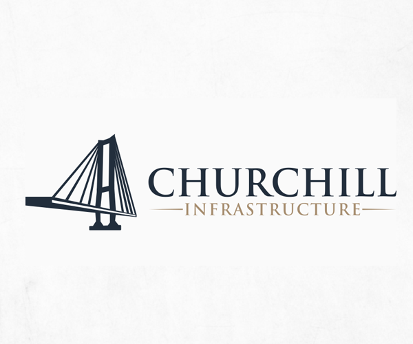 churchill-infrastructure-logo-design