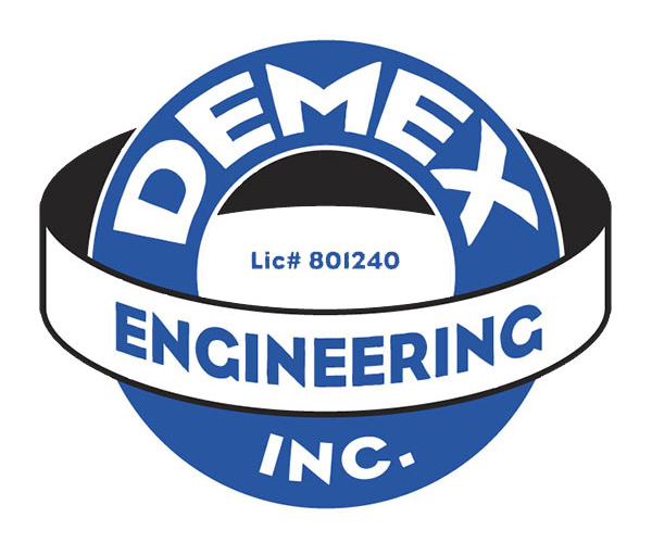 demex-engineering-inc-logo-design