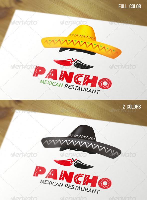 pancho-mexican-restaurant-logo-design
