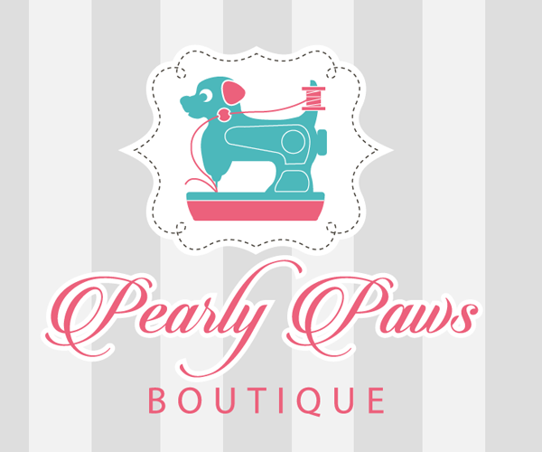 pearly-paws-boutique-logo-design