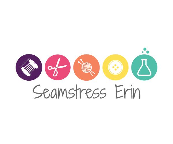 seamstress-erin-logo-design