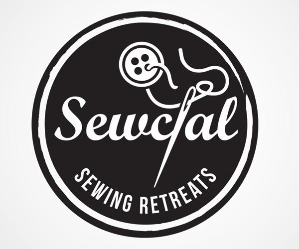 sewcal-sewing-retreats-logo-design