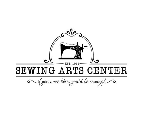 sewing-arts-center-logo-design
