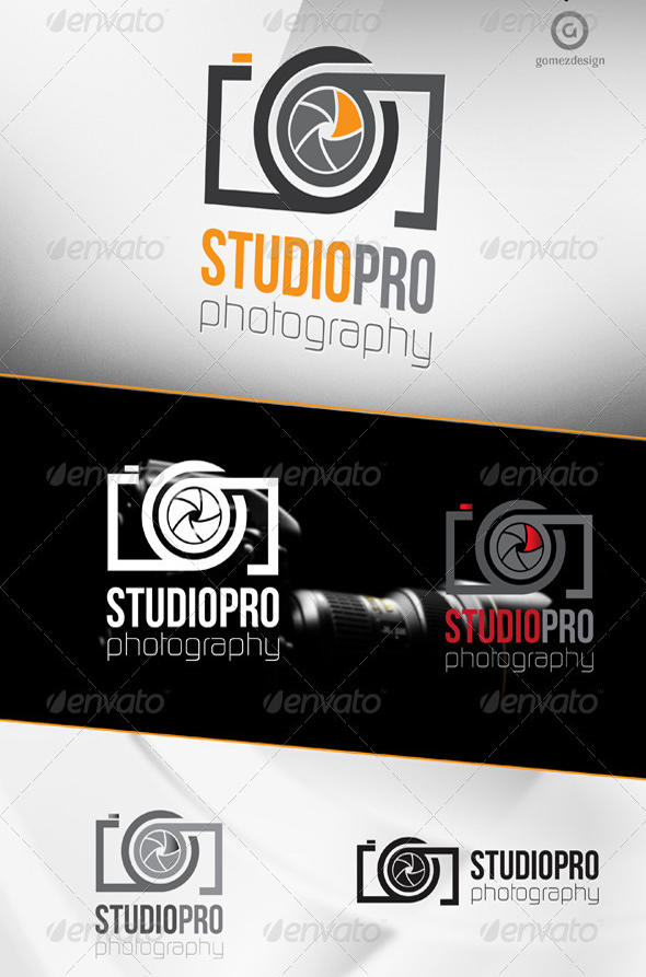 30 creative business logo templates download studio pro photography logo download reheart Choice Image