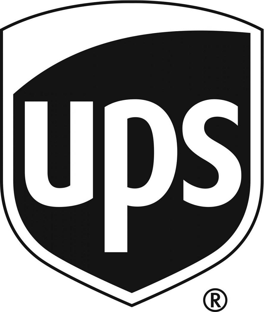 Ups Logo Vector blackand white